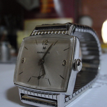 1962 Hamilton Gary 10K white gold filled