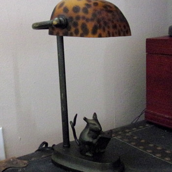 Bronze Desktop Lamp