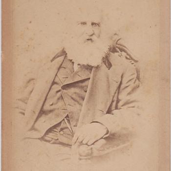 Henry W Longfellow Cabinet Card