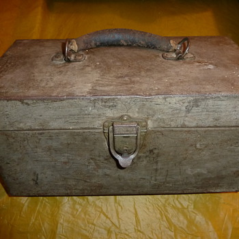 old tackle boxes - Fishing