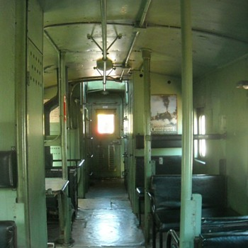 Inside a Caboose Part Two - Railroadiana