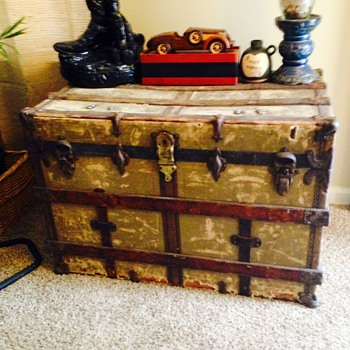 Yale & Towne Trunk  - Furniture