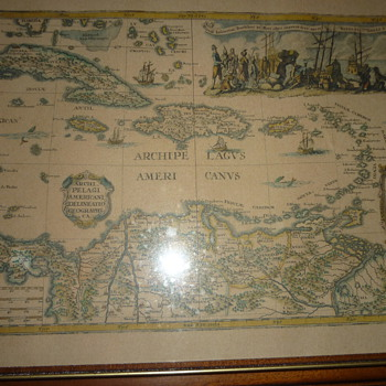 Old Carib maps