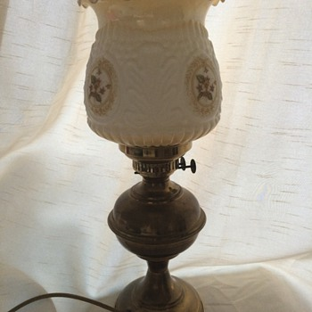 Lovely converted oil lamp
