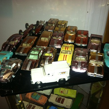 Aurora Cigar Box and Speedline collection including the Good Humor turck - Model Cars