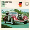 Vintage Car Card - Mercedes 540 K