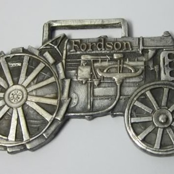Rare Original Period FORDSON Ford Tractor Watch Fob.