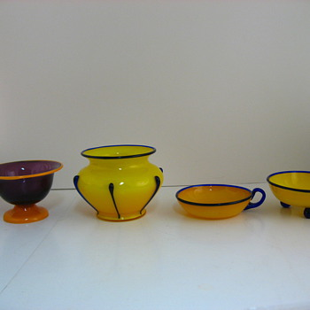 All loetz tango, I think - Art Glass