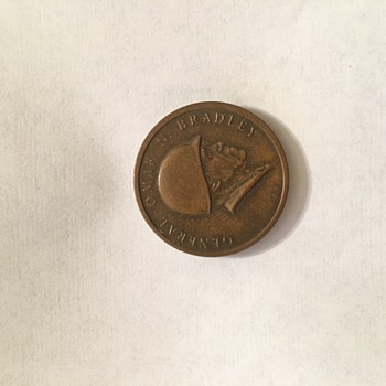 General Omar N. Bradley coin - Military and Wartime