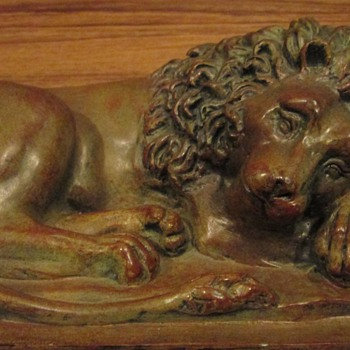 Small Lion Statuette