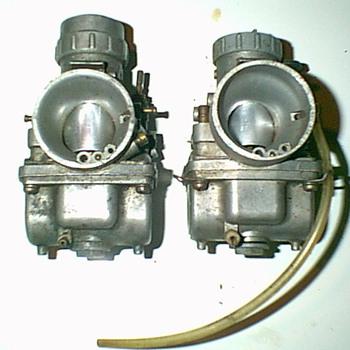 2-Dual Mikuni Carbs
