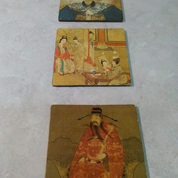 ASIAN ART COASTERS