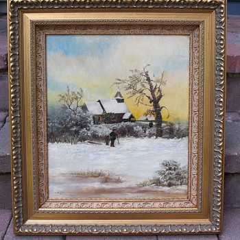 A New England Landscape Painting