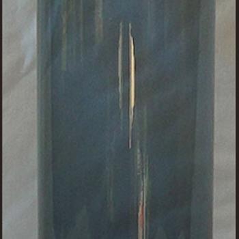 Riihimäen lasi, Nanny Still, Koristepullo 1735  - Art Glass