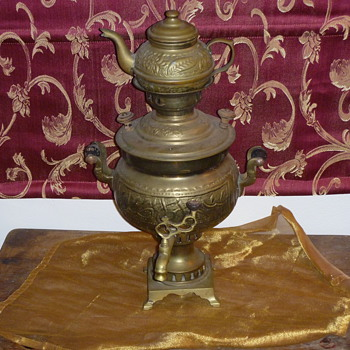 19th Century Russian Samovar - Still researching - Kitchen