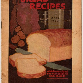 1918 - Bread Recipes (War Rationing - Canada)