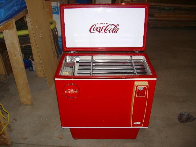 vintage coke machine parts