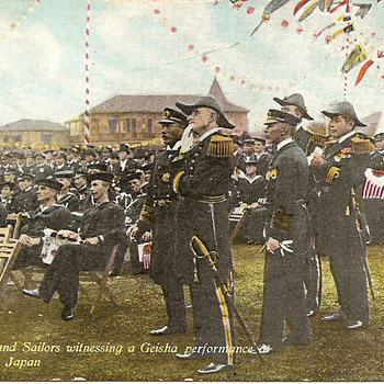 White Fleet postcard  - Postcards