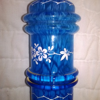 Rare Four Band Shaker - Art Glass