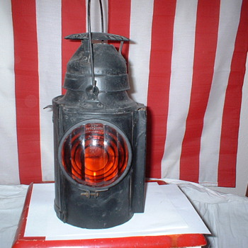 RR  Signal Lantern