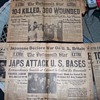 Pearl Harbor Attack Newspapers Discovered.