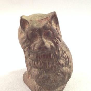 Cast Iron Cat Figurine