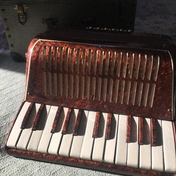 Vintage Small Accordion
