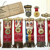 Odd Fellows Ribbons, Medallions & Celluloid Pins