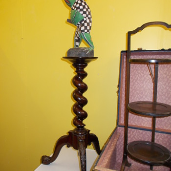 3 tiered wooden stand...........