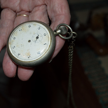 What is this strange pocket-watchlike object?