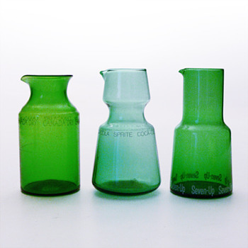 3 refreshment jugs (probably Karhula, 1960s)