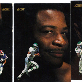 reggie white, keith jackson, thurman thomas favorite football players - Football