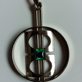 Big modernist pendant - Fine Jewelry