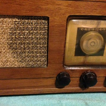 Crosley - RCA Victor - Stromberg Carlson - Silver