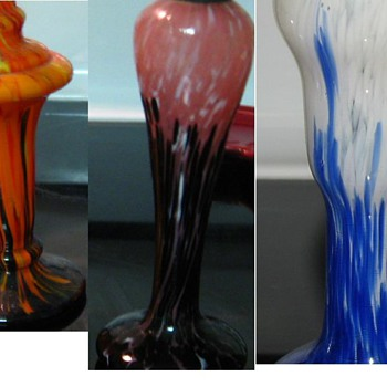 """Shimmy"" pieces - Art Glass"