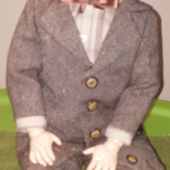 G B Boy in Suit, by George Borgfeldt & Co. - Dolls