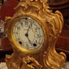Rare Seth Thomas 1870s Gilded Rococo Mantle Clock