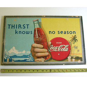 "My Coca-Cola ""Thirst knows no season"""
