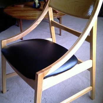 Danish Modern Style Dining Chairs.