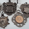 Antique sterling silver medals/medallians