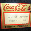 1930 Coca-Cola Bottlers Convention Badge