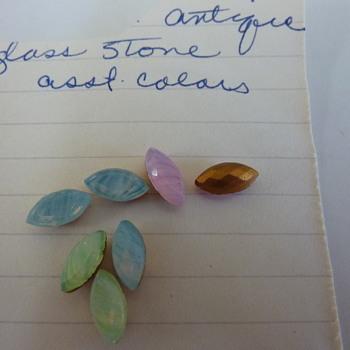 Striated antique stones?