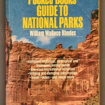 1984 - Pocket Book Guide to National Parks - Books