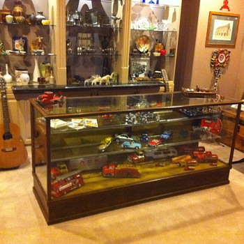Antique store display counter - Furniture