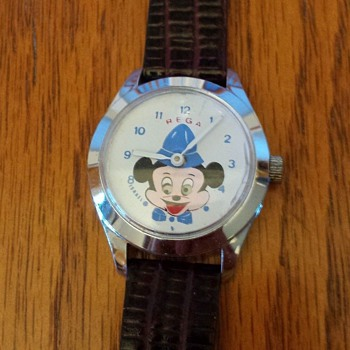 Continued Saga Of the Rega Watches....Mickey Mouse