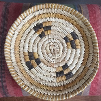 Indian Papago basket?