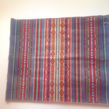 Antique Native American Blanket - Rugs and Textiles