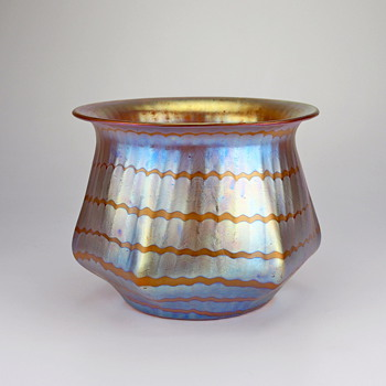 early Loetz Phänomen Genre 7506 circa 1898 - Art Glass