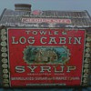 Towle's Log Cabin Syrup Tin Copyrighted 1914