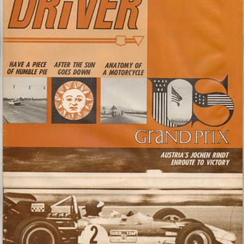 USAF Driver Magazine - February 1970 Issue - Paper